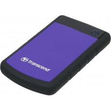"Внешний Жесткий диск Transcend USB 3.0 1Tb TS1TSJ25H3P  (5400rpm) 2.5"" фиолетовый"