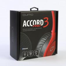 Гарнитура QUMO Accord 3PRO (BT-0021) черно-красный