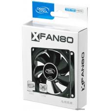 Вентилятор Deepcool XFAN 80 80x80x25 4-pin (Molex)20dB 82gr Ret