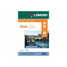 Бумага Lomond Paper Matte Quality  A4, 160g/m2, (25л) (0102031)