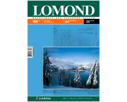 Бумага Lomond Paper Matte Quality A4, 180г/м, (25л.) (0102037)