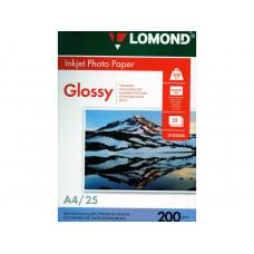 Бумага Lomond Paper Glossy A4, 200g/m2, (25л) (0102046)