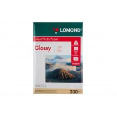 Бумага Lomond Paper Glossy A4, 230g/m2, (25л) (0102049)